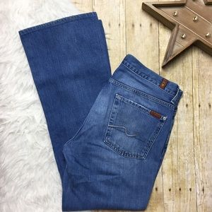 7 For All Mankind Organic Cotton Bootcut Jean